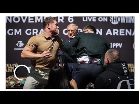 Boxing Canelo Alvarez And Caleb Plant Heated Press Conference By Eric Pangilinan https://youtu.be/uA7gfgyBaT0