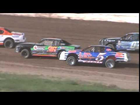 IMCA Stockcar Heat 1 Seymour Speedway 6/21/15