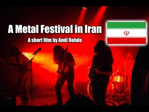 I went to a Heavy Metal Festival - IN IRAN !!!