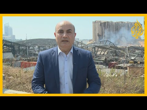 نافذة يقدمها حسن جمول من مكان انفجار بيروت ويرصد فيها آخر تطورات المشهد الإنساني والسياسي