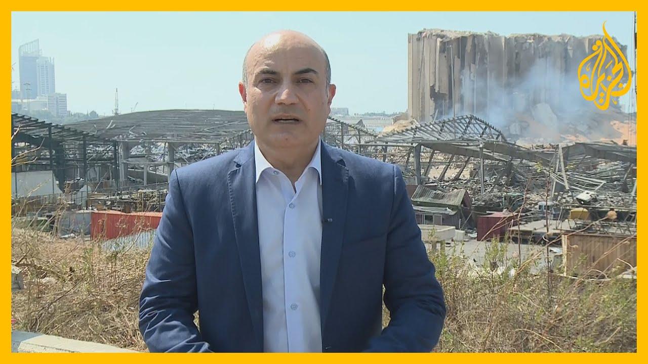 نافذة يقدمها حسن جمول من مكان انفجار بيروت ويرصد فيها آخر تطورات المشهد الإنساني والسياسي ??