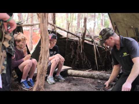 Kids vs Wild Bush Survival Training
