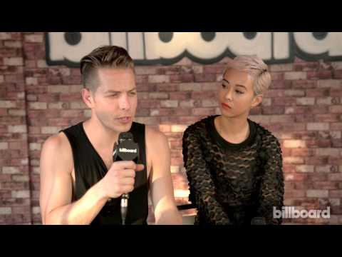The Naked and Famous Q&A and LIVE at Governors Ball 2014