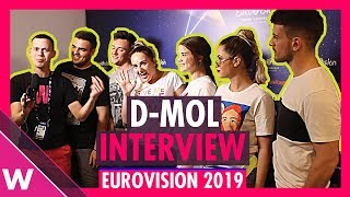 D mol (Montenegro) interview @ Eurovision 2019 first rehearsal