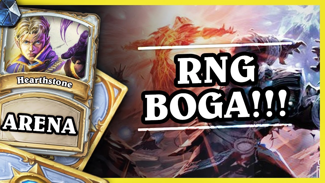 RNG BOGA! – PRIEST – Hearthstone Arena