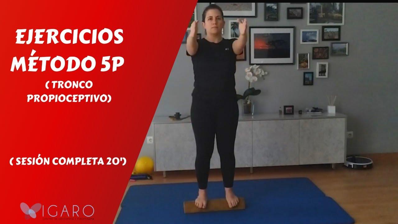 Download Ejercicios Método 5P (tronco propioceptivo)