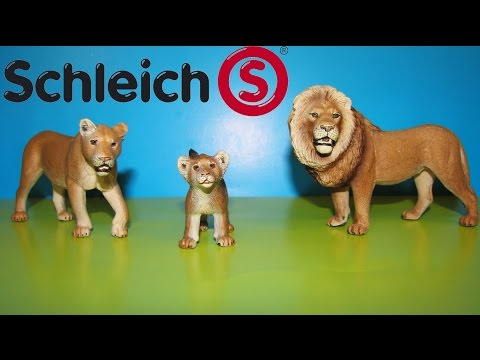 Schleich Lion Scenery Pack Opening and Surprise Toy to 3 Year Old African Animals