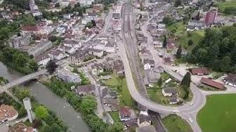 Wattwil / Lichtensteig, Toggenburg, Kanton St. Gallen, Schweiz