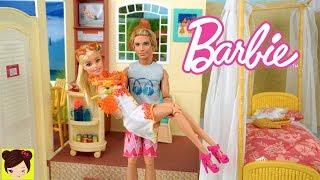 Barbie & Ken de Viaje - Hotel de Playa con Habitacion para Muñecas