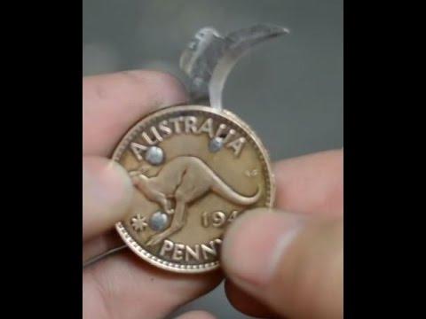 Cara membuat Coin Logam Menjadi Pisau Kecil, Buat Jaga ...