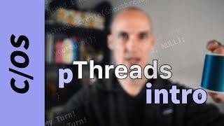 كيفية إنشاء والانضمام المواضيع في ج (pthreads).