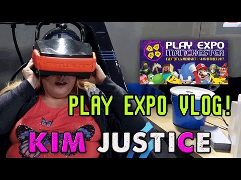 My Manchester Play Expo 2017 experience! (feat. Hyper Sentinel + Sociable Soccer) - Kim Justice
