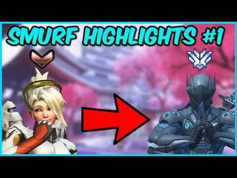 When A Mercy Main Locks Genji... IT GETS REAL (Overwatch Smurf Highlights #1)