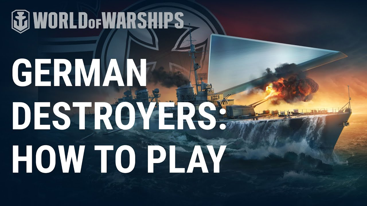 New German Destroyers Review | World of Warships