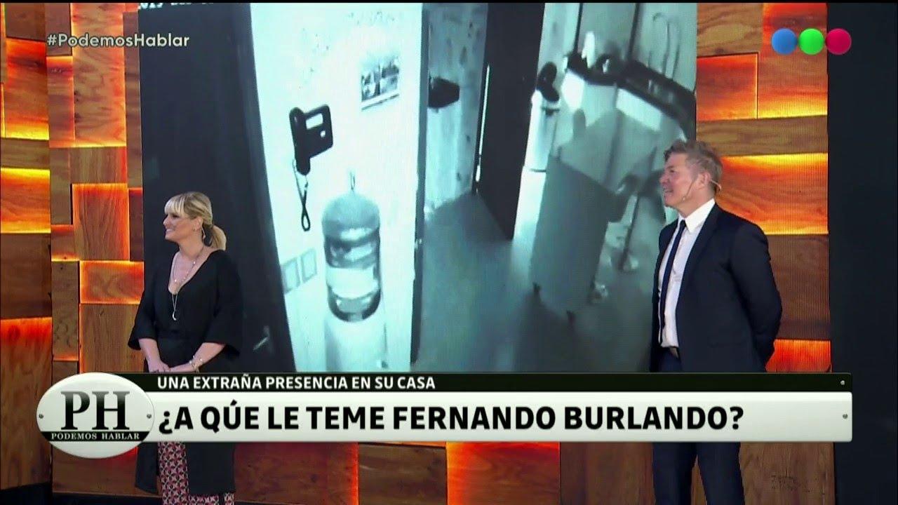 Los fantasmas en la casa de Fernando Burlando- Ph Podemos Hablar 2020