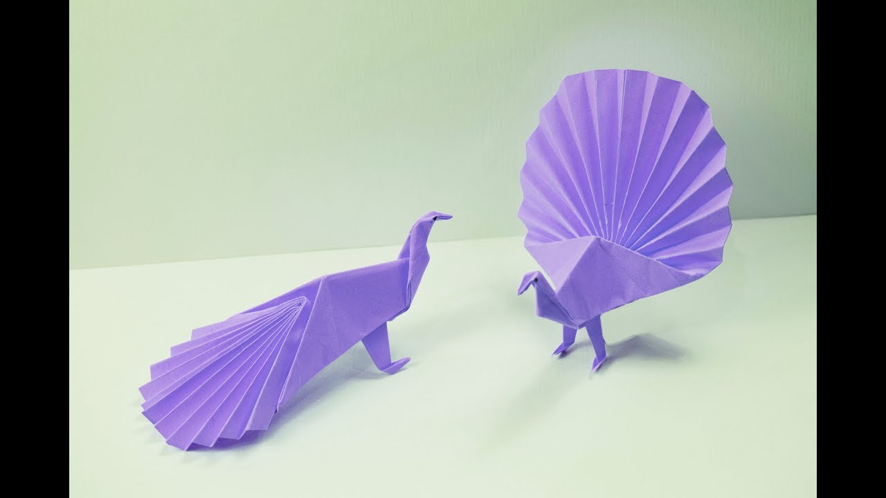 How To Make A Paper Peacock