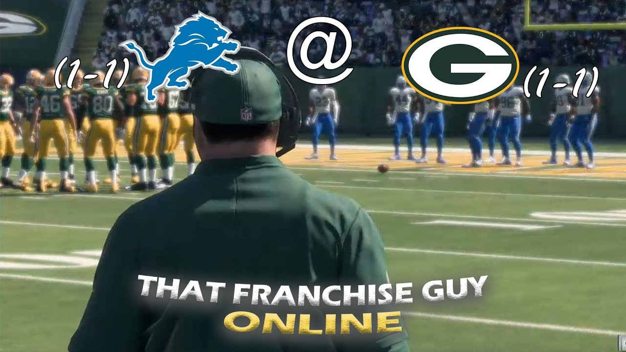 Download EPIC NFC NORTH BATTLE! TFGO League Week 3   Lions (1-1) @ Packers (1-1)