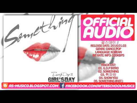 [MP3/DL]02. Girl's Day(걸스데이) - SOMETHING (썸씽) [3rd Mini Album Every Day 3]