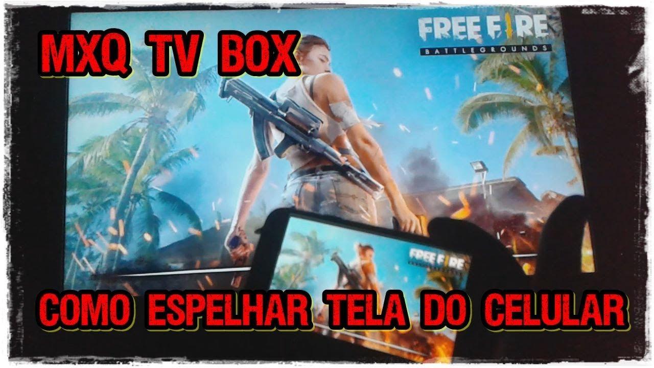 MXQ TV BOX 4K || COMO ESPELHAR A TELA DO CELULAR