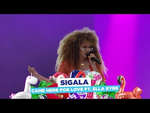 Sigala - 'Came Here For Love feat Ella Eyre' (live at Capital's Summertime Ball 2018)