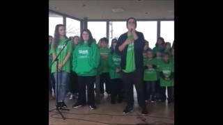 "Shrek Jr. Jeremy Pastoria singing ""Who I'd Be"""