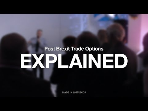 Post Brexit trade options explained for Scotland