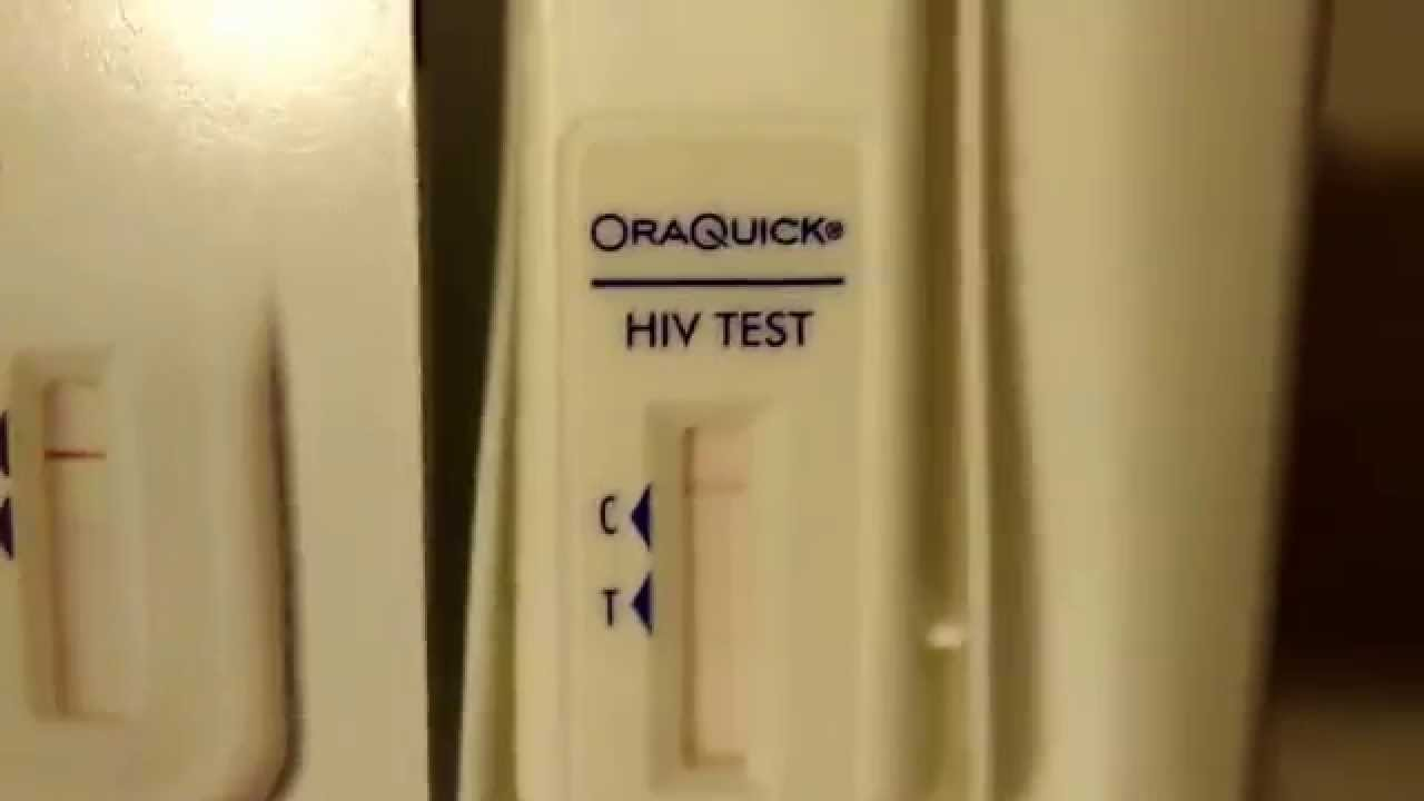 Live Results from OraQuick HIV In Home Test