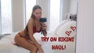 TRY ON BIKINI HAUL