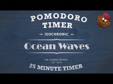 Get Focused Instantly Without Effort - Ocean Waves Pomodoro Timer