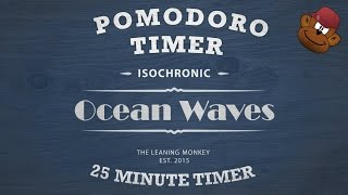 Get Focused Instantly Without Effort - Ocean Waves Pomodoro Timer