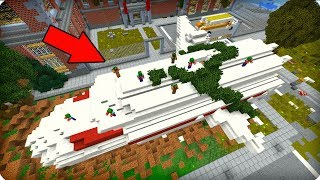 Зомби сбили этот самолет? [ЧАСТЬ 35] Зомби апокалипсис в майнкрафт! - (Minecraft - Сериал)