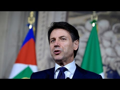 Italy's Prime Minister-designate Giuseppe Conte heads new coalition government