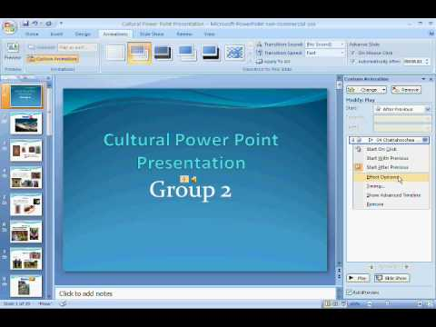 How To Add Music On Every Slide On Powerpoint 2007, 2010, & 2013