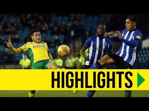 HIGHLIGHTS: Sheffield Wednesday 0-4 Norwich City