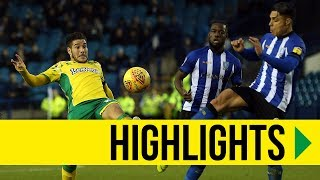HIGHLIGHTS: Sheffield Wednesday 0-4 Norwich City