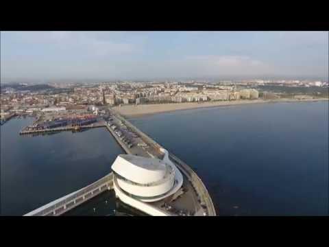 Matosinhos by drone