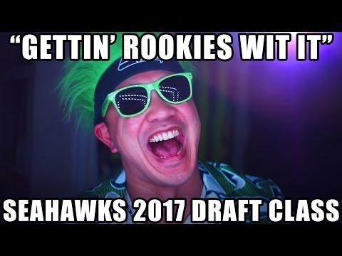 """Will Smith """"Gettin' Jiggy Wit It"""" PARODY (2017 Seahawks Draft Class)"""