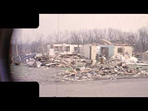 Fridley 1965 May 7th Tornado aftermath