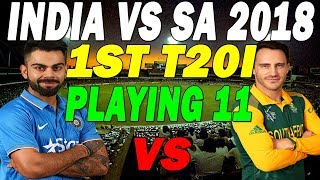 australia vs south africa 1st odi 2018 playing xi