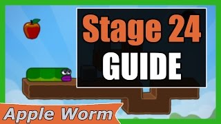 Apple Worm Level 24 Guide