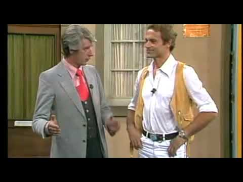 Terence Hill on german TV Show Am laufenden Band 1977