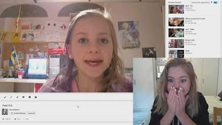 Reacting to my old videos!! #2