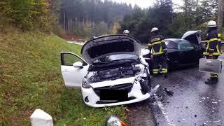Ein Verletzter und 15.000 Euro Schaden bei Unfall auf L 46
