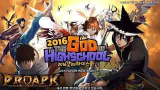 Video The God of High School 2016 Gameplay (KR) iOS / Android download MP3, 3GP, MP4, WEBM, AVI, FLV Maret 2018