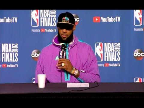 LeBron James   Game 3 NBA Finals Press Conference