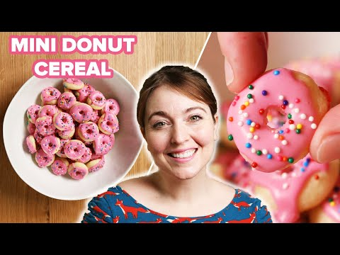 I Tried To Make Mini Donut Cereal • Tasty