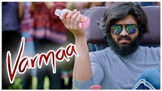 Varmaa Tamil Movie Scenes   Dhruv Vikram shares his love story with Raiza Wilson   Radhan   Bala