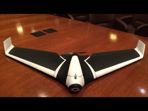 Parrot's Newest Drone Has Wings