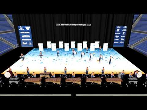 Athens Drive HS 2017 - Pt 2 - Indoor Percussion Drill