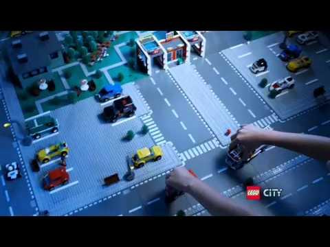Lego樂高city城市系列 消防局 Youtube